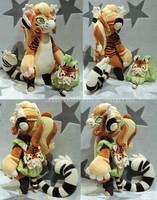 [PLUSH/BAGBEAN] Fauna (Tiger) by ShiroTheWhiteWolf