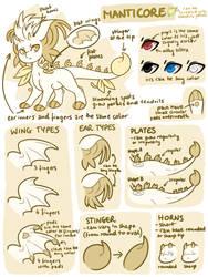 MYO Guide - Impling (Manticore) by ShiroTheWhiteWolf