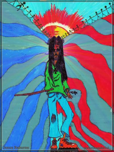 Jesus Returns by greyeyesgabriel