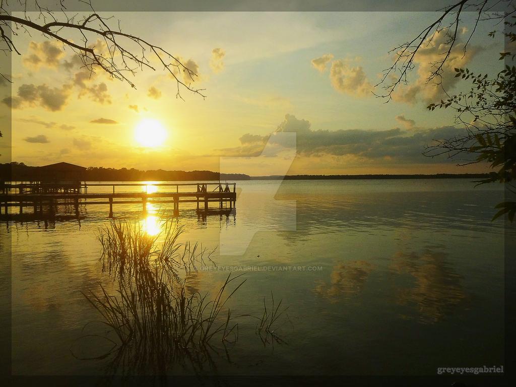 Cotton Sunset by greyeyesgabriel