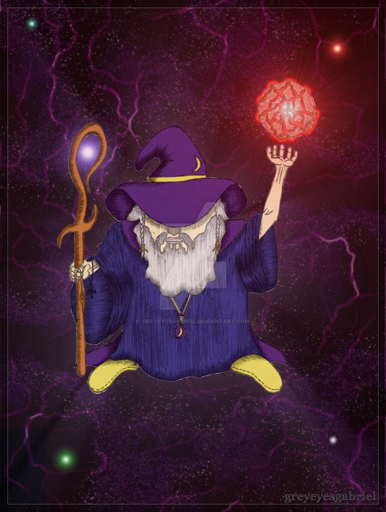The Wizard (v1.5) by greyeyesgabriel