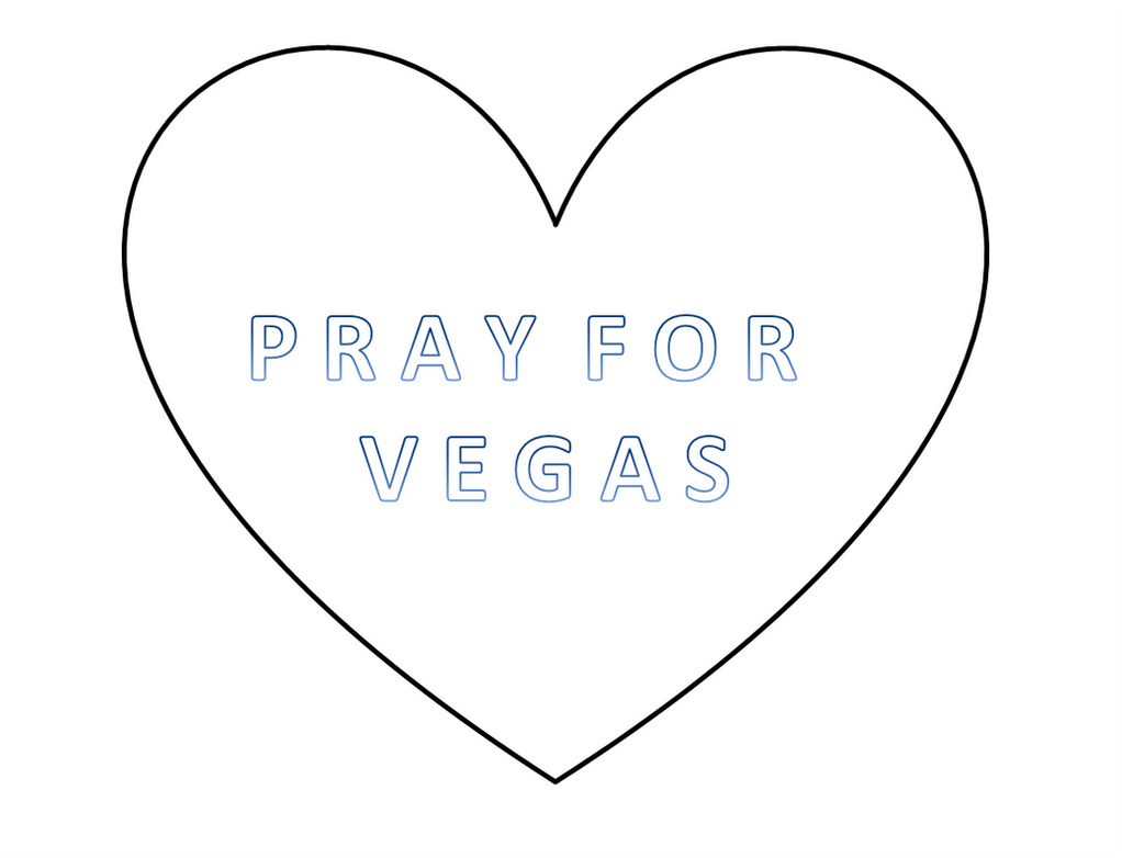 Pray For Las Vegas by Jabberwocky1996