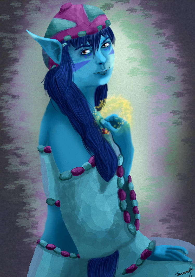 High Priestess by LilSunnyGirl