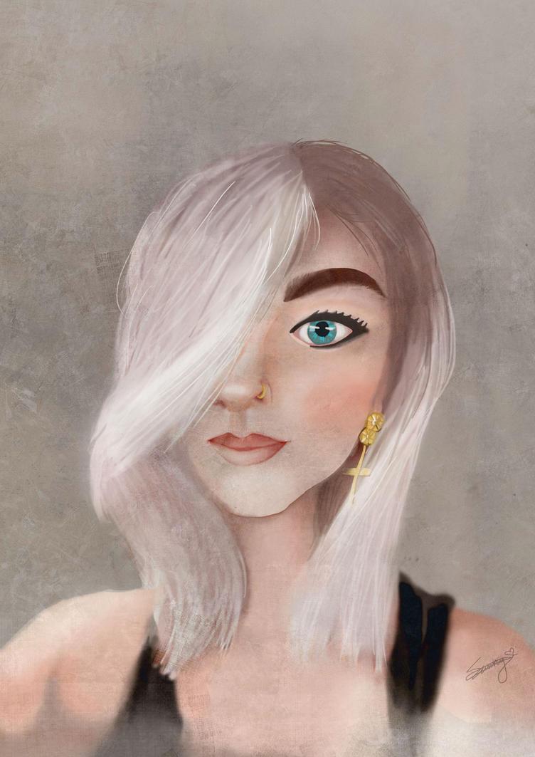 Portrait Practice large by Sunnada