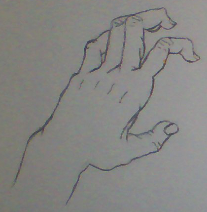 Drawing hands - Scratching by Kakalot