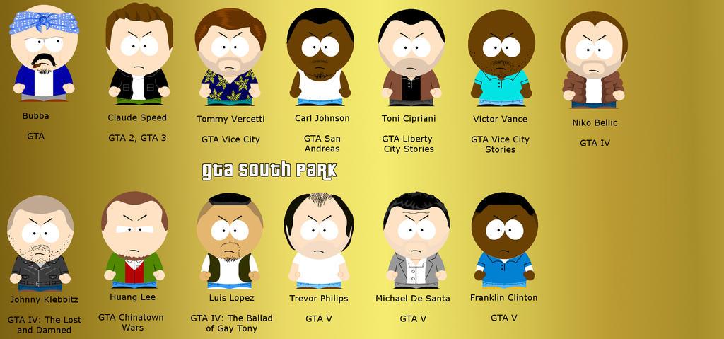 GTA South park v.2 by Kakalot