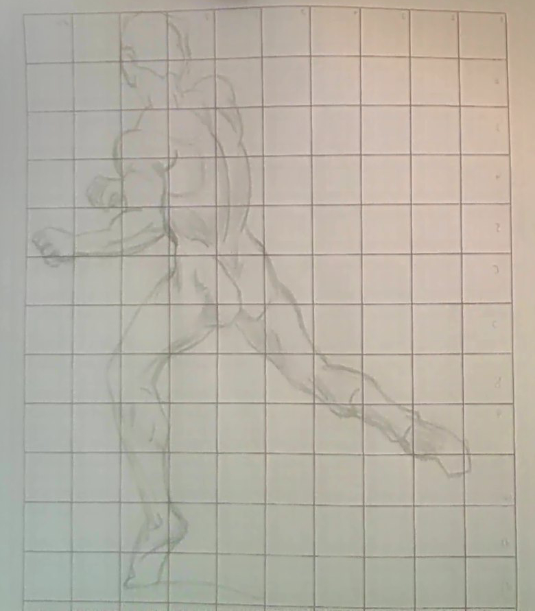 Drawing the human figure in action - XIV by Kakalot