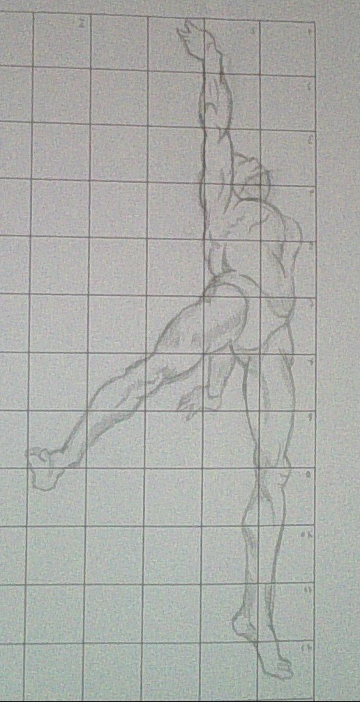 Drawing the human figure in action - XV by Kakalot