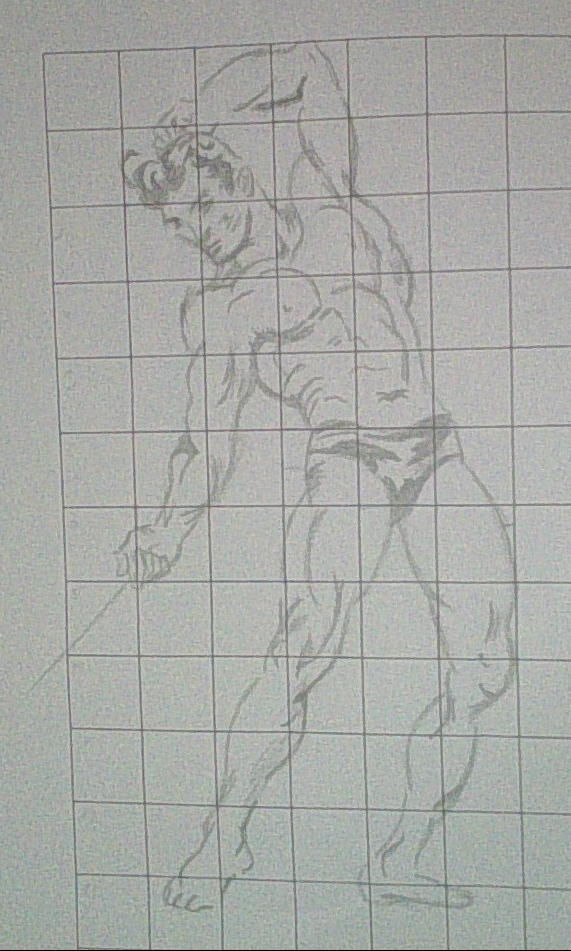 Drawing the human figure in action - XVI by Kakalot