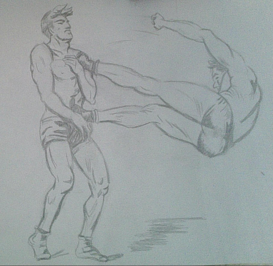 Drawing the human figure in action - XVII by Kakalot