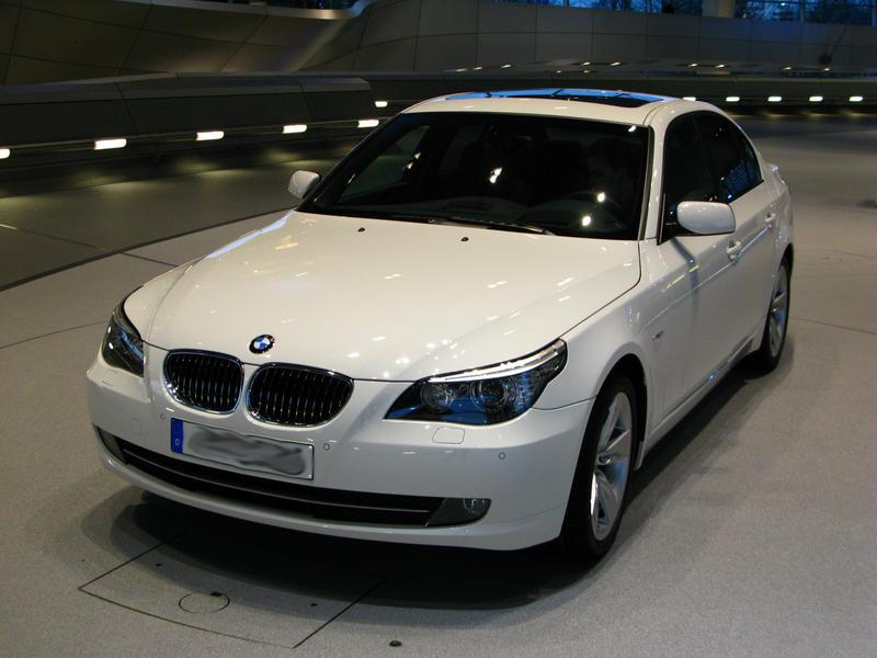 Alpine White BMW 5 series by VanGTO on DeviantArt