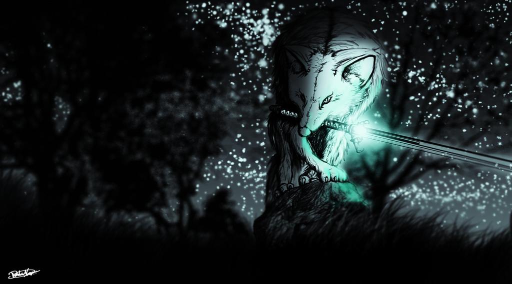 The Great Grey Wolf SIF : Dark Souls Fan-Art By DESTINYL8r
