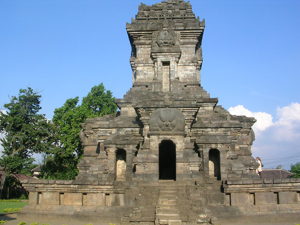Temple In Malang, Indonesia by Fajrul19