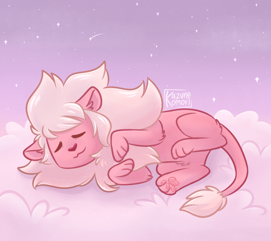 Just a sleepy Lion