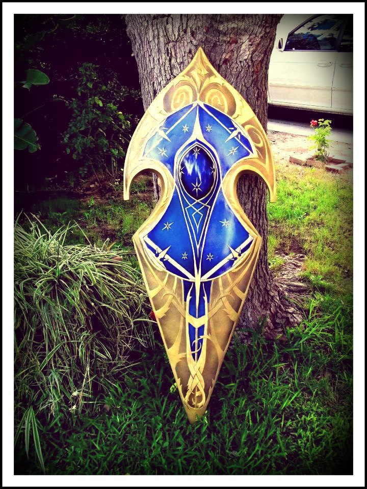 Shield of Gil Galad by gbarraza