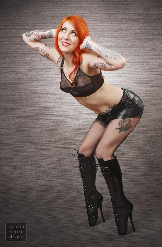 Scarlett in Ballet Boots by BlackRoomPhoto