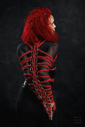 Rope Armbinder by BlackRoomPhoto