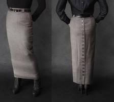 Tweed Skirt by BlackRoomPhoto
