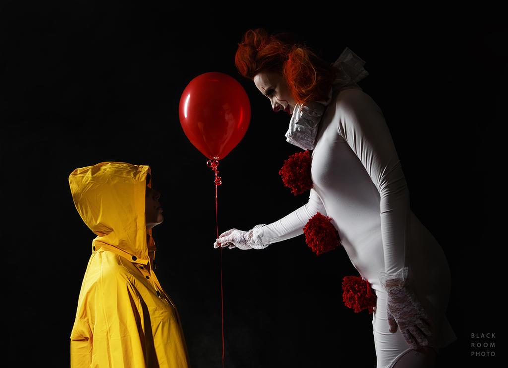 Would You Like A Ballon Too? by BlackRoomPhoto