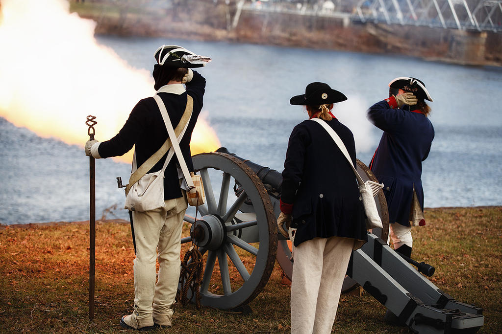 Cannon Fire 1 by BlackRoomPhoto