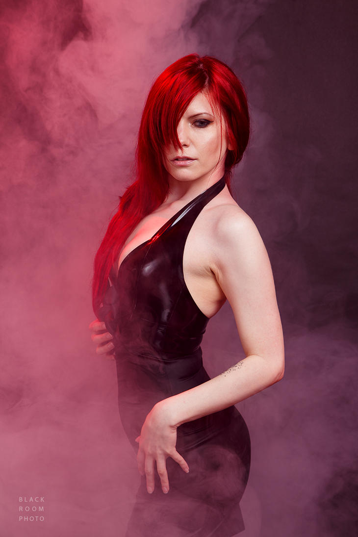 Harley Dark - Latex Dress by BlackRoomPhoto