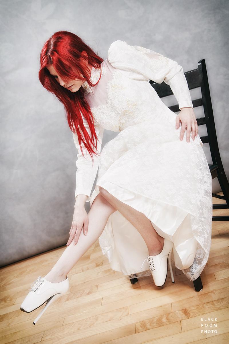 Harley Dark - Ballet Bride by BlackRoomPhoto