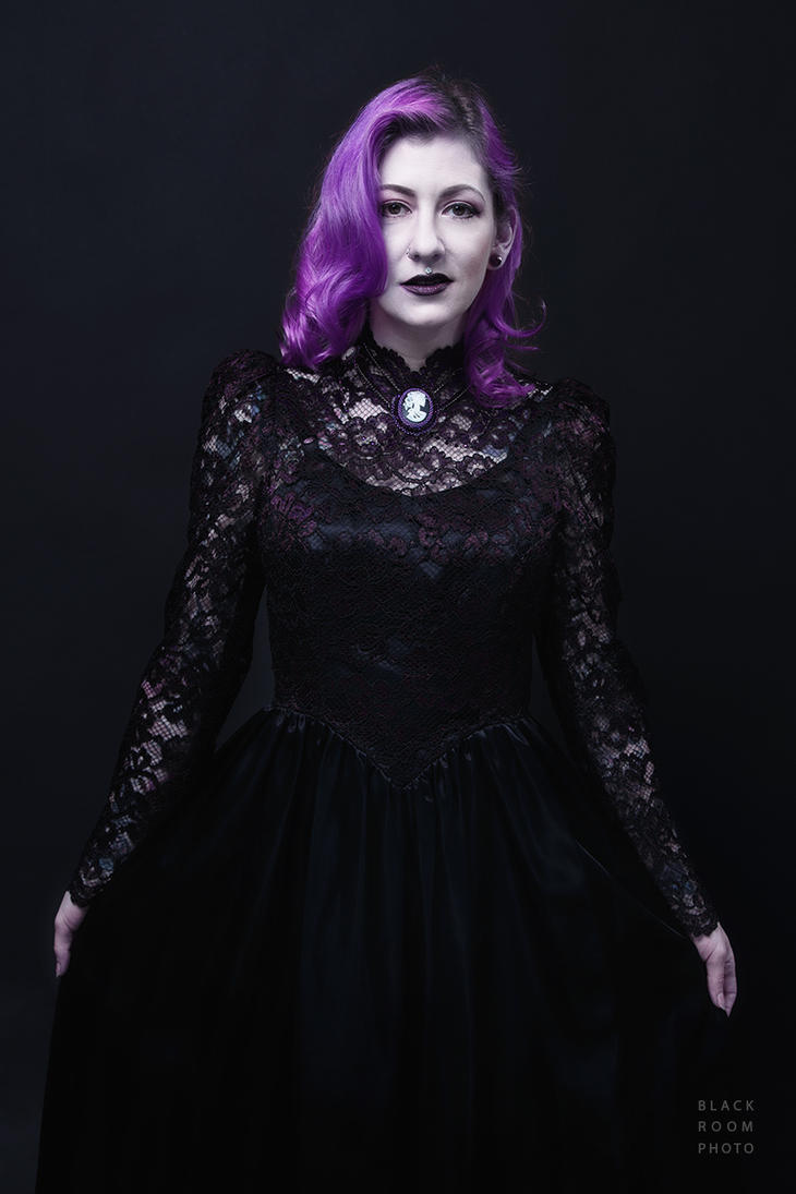 Violet Femme by BlackRoomPhoto