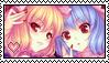 Scarlet Sisters - Stamp by Polka54