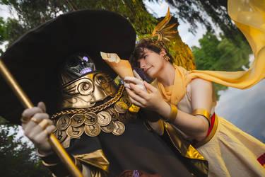 Charon and Hermes