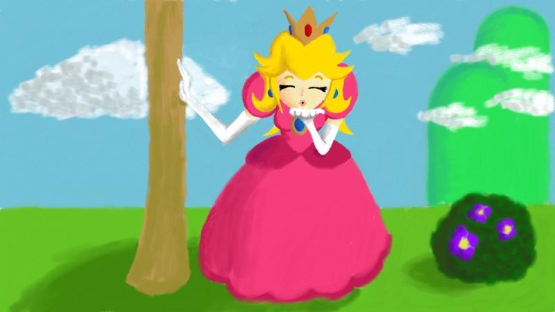Fapzone princess peach mario bros - 5 2