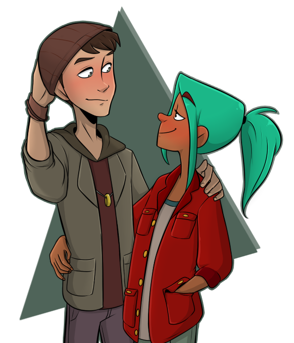 Image result for alex and jonas oxenfree