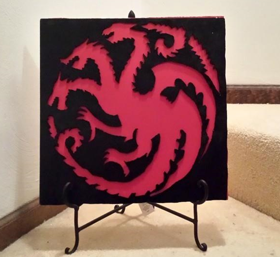 Targaryen Dragon by The-Bagel-Guy