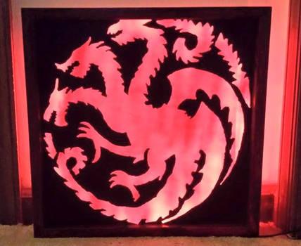 Targaryen  Dragon Final Product