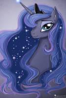 Luna Portrait by HelenasHerzblut