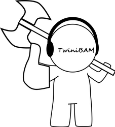 TwiniBAM Like with Axe