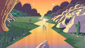 Background for animation.