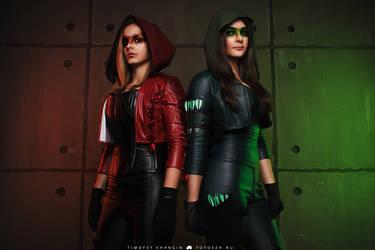 Arrow and Arsenal by MarikaGreek