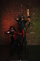 Arrow and Arsenal 2 by MarikaGreek