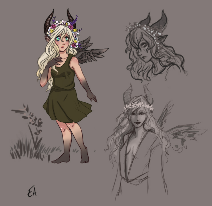 Wisteria CONCEPTING by Lovestruckk
