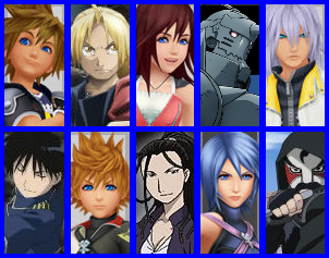 Dissidia: FMK Heroes by 4xEyes1987