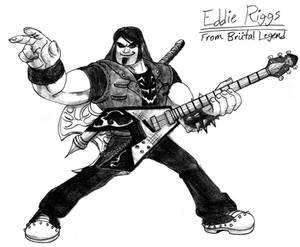 Eddie Riggs from Brutal Legend