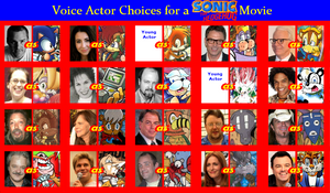 Voice Choice for a Sonic the Hedgehog Movie