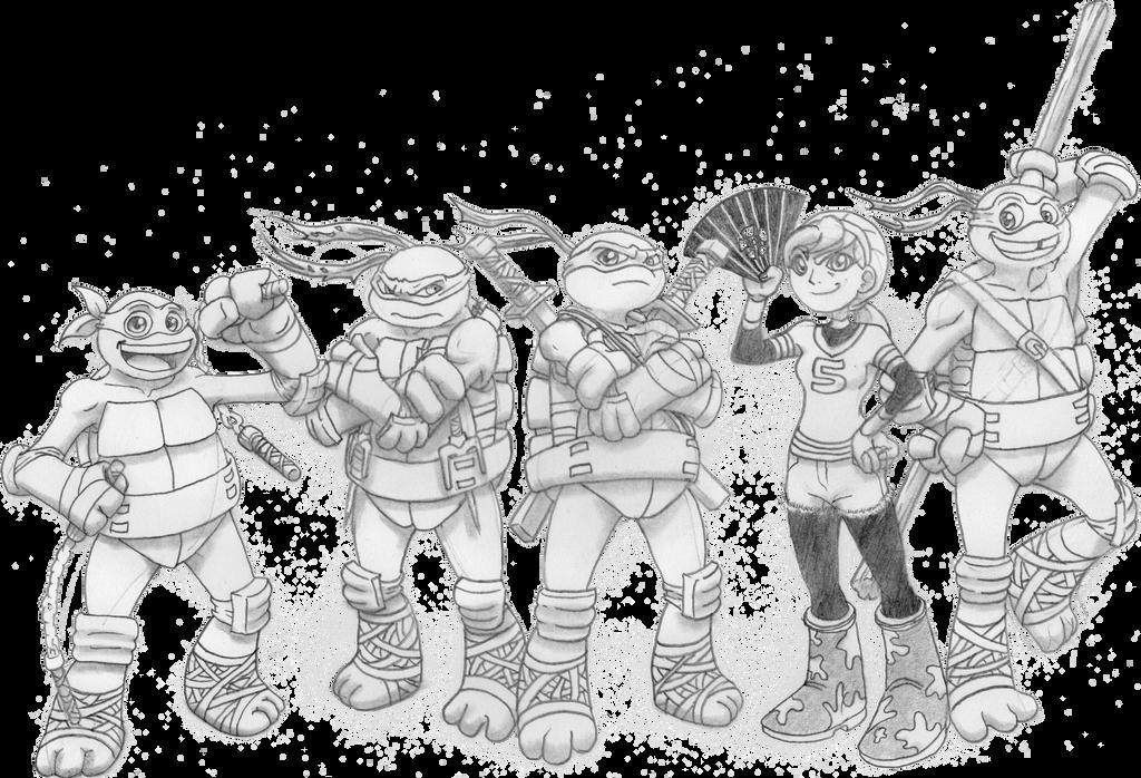 Teenage Mutant Ninja Turtles 2012 Main Heroes By 4xeyes1987 On Deviantart