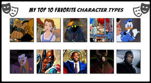 My Top 10 Favorite Character Types