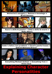 Explaining Character Personalities By 4xEyes by 4xEyes1987
