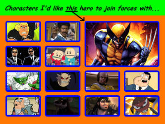 Wolverine Should Join Forces With... by 4xEyes1987