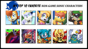 My Top 10 Favorite Non-Game Sonic Characters