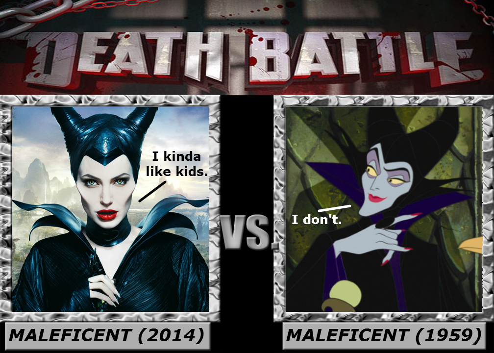 Death Battle Maleficent 2014 Vs Maleficent 1959 By
