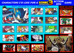 SONIC ADVENTURE 3 Action/RPG Listing