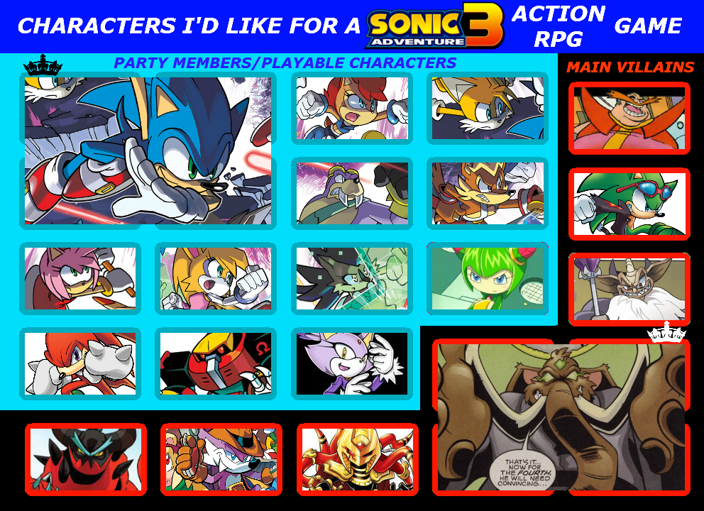 Sonic world adventure movie - Birds of a feather series 10